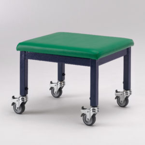adjustable height wheely stool