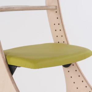 flat padded seat