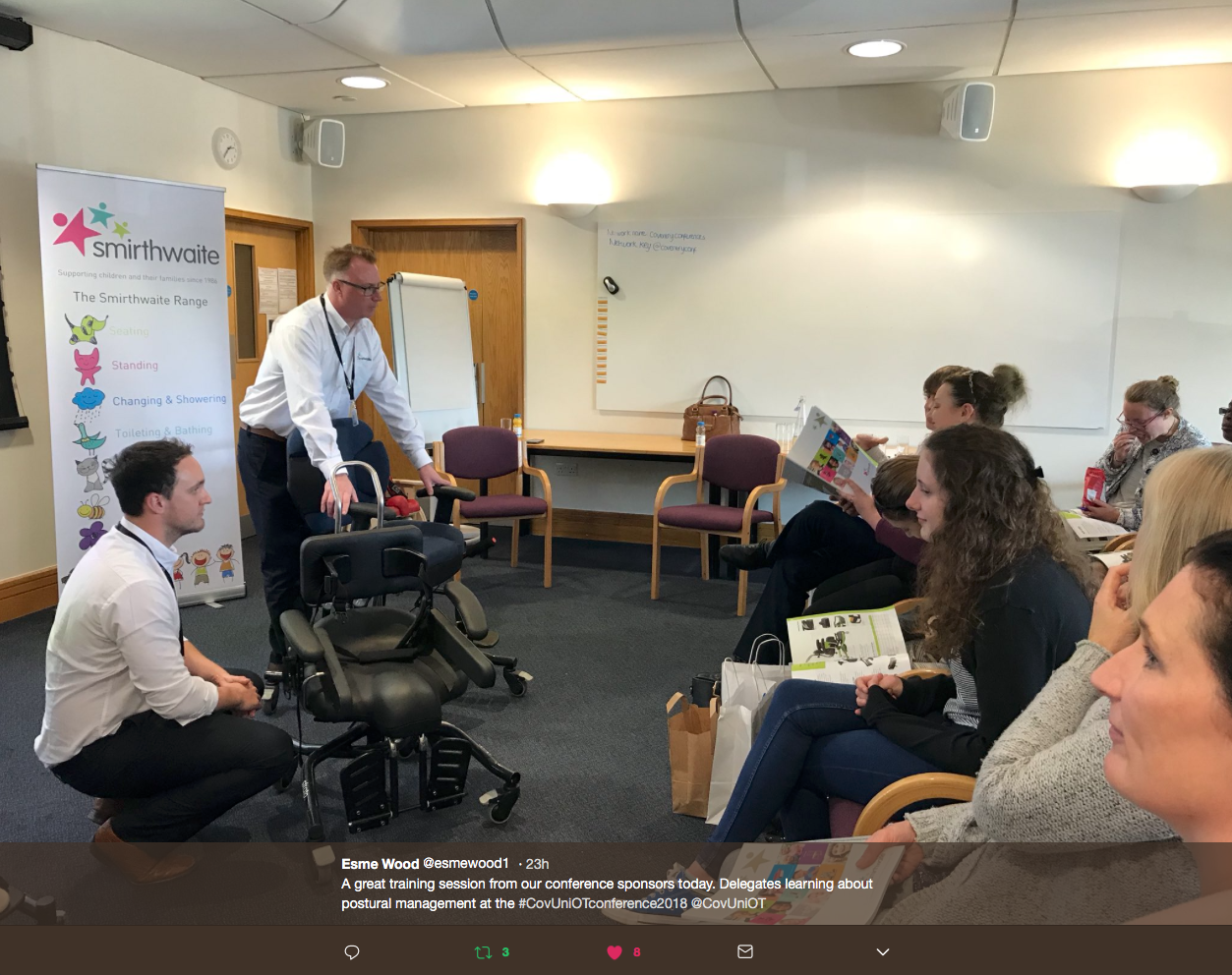 Screen Shot 2018 05 24 at 14.04.14 - Successful day at Coventry University