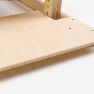 reversible footboard