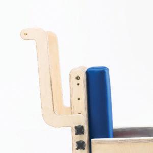 adjustable height push handle
