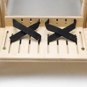 footplate & straps