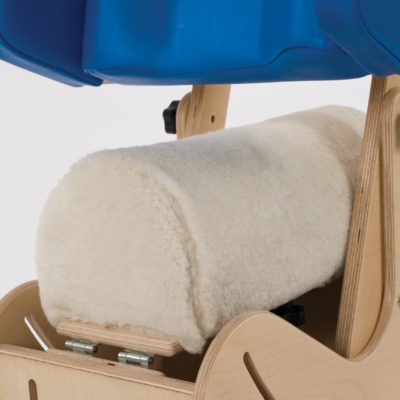 multi adjustable hip spica chair lamb skin seat cover