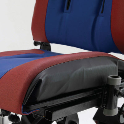 lateral seat contour roll