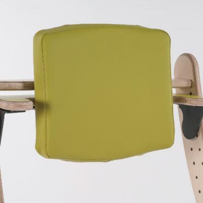 high padded backrest